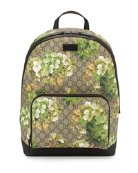 Gucci Gg Blooms Canvas Backpack Multi