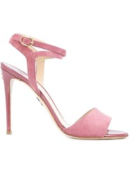 Paul Andrew 'Laura' Sandals Pink And Purple