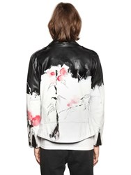 Faith Connexion Hand Painted Nappa Leather Jacket
