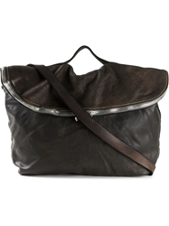 Guidi Distressed Leather Messenger Bag