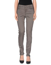 Street One Trousers Casual Trousers Women Grey