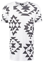 Jaded London Print Tshirt White