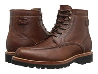 Trask Elkhorn Saddle Tan Bison Men's Boots Brown