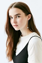 Urban Outfitters Stella Drop Earring Silver