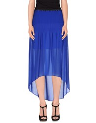 Pinko Black Skirts Long Skirts Women Blue