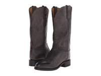 Lucchese Blair Anthracite Grey Cowboy Boots Gray