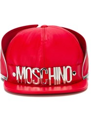Moschino 'Cadillac' Cap Red