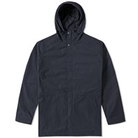 Norse Projects Lindisfarne Summer Cotton Jacket Blue