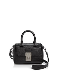 Ted Baker Maira Luggage Lock Mini Satchel Black