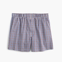 J.Crew Cabernet Tattersall Boxers