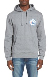 Mitchell And Ness Men's Team History Philadelphia 76Ers Graphic Hoodie