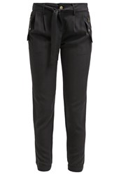 Morgan Palma Trousers Noir Black