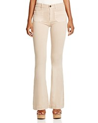 Hudson Taylor Flare Pants In Parachute Khaki 100 Bloomingdale's Exclusive