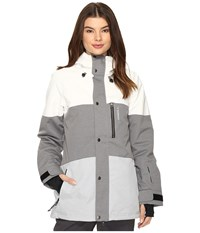 O'neill Coral Jacket Silver Melee Women's Coat Gray