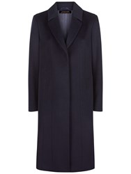 Jaeger Wool A Line Coat Midnight