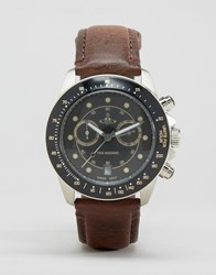 Vivienne Westwood Brown Leather Strap Watch Brown
