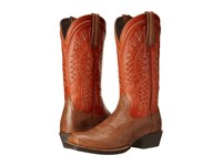 Ariat Troubadour Wood Tuscan Sun Cowboy Boots Brown