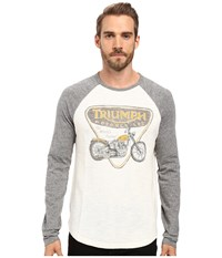 Lucky Brand Triumph Badge And Bike Multi Men's Clothing