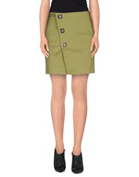 Dsquared2 Skirts Mini Skirts Women Emerald Green