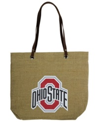 Little Earth Ohio State Buckeyes Burlap Tote Brown