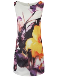 Koo Ture Lilly Floral Shimmer Dress White