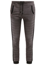 Khujo Carbon Tracksuit Bottoms Dark Grey