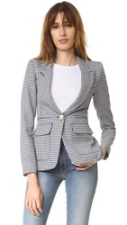 Smythe Patch Pocket Blazer Navy Check