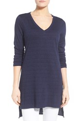 Women's Nydj V Neck High Low Jersey Tunic
