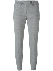Dondup 'Perfect' Houndstooth Trousers Black