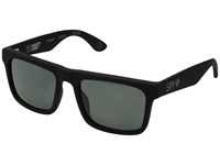 Spy Optic Atlas Soft Matte Black Happy Gray Green Polar Athletic Performance Sport Sunglasses