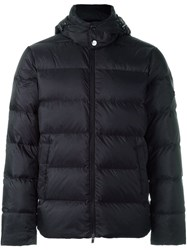 Michael Kors Hooded Puffer Jacket Black