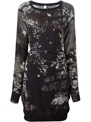 High 'In Favour' Tunic Dress Black