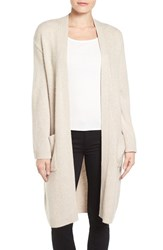 Emerson Rose Women's Open Front Long Cashmere Cardigan