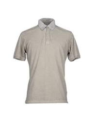 Alpha Massimo Rebecchi Polo Shirts Grey