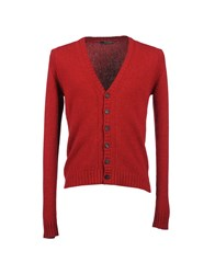 Bellwood Knitwear Cardigans Men Red