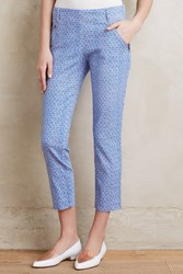 Cartonnier Seascape Charlie Trousers Blue Motif