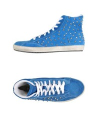 Cult High Tops And Trainers Azure