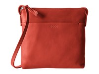 Ecco Handa Crossbody Tomato Red Cross Body Handbags