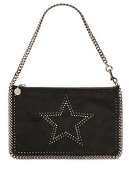Stella Mccartney Star Shaggy Faux Deer Small Clutch