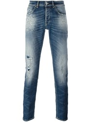 Dondup Distressed Jeans Blue