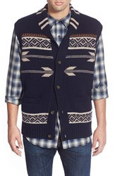 Men's Pendleton 'American Treasures' Jacquard Knit Shawl Collar Sweater Vest
