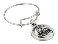 Alex And Ani Expandable Ring Silver Love Ii Ring