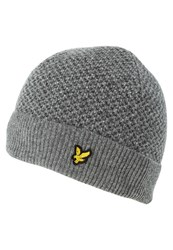 Lyle And Scott Hat Mid Grey Marl