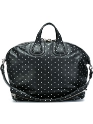 Givenchy Cross Print Tote Black