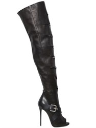 Giuseppe Zanotti 120Mm Nappa Leather Over The Knee Boots
