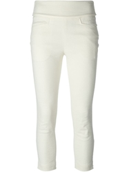 Isabel Marant Cropped Trousers White