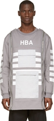Hood By Air Grey Altitude Pullover