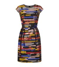 Escada Duyve Striped Dress Female Multi