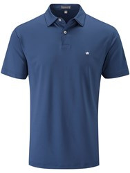 Peter Millar Solid Stretch Polo Navy