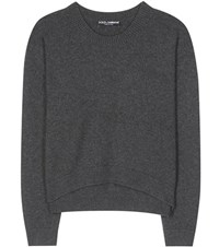 Dolce And Gabbana Cashmere Sweater Grey